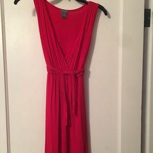 Ann Taylor red Dress s